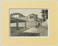 Saluzzo.piazza Del Castello-cuneo. In Passepartout 1894 -  - ebay.it