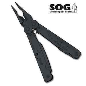 SOG PowerAssist Multi-Tool Black B66 w/nylon sheath USA