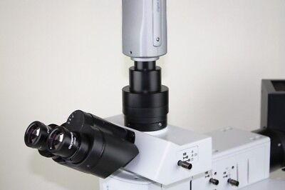 C-mount Camera Adapter F Olympus U-tv1x-2 U-cmad3 Bx Cx Mx Gx Szx Stm Microscope