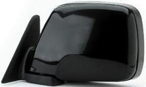 TOYOTA-100-SERIES-LANDCRUISER-LHS-BLACK-MANUAL-MIRROR