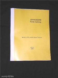 JOHN-DEERE-50-TRACTOR-PARTS-CATALOG-MANUAL