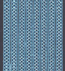BLUE-MINI-SCALLOP-PAPER-BORDER-SCRAP-DRESDEN-GERMANY-PUTZ-CARD-ORNAMENT-SCRAP