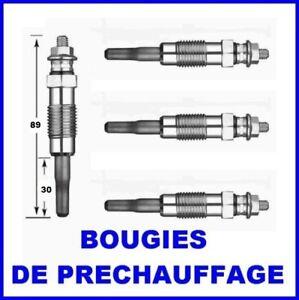 4 bougies de prechauffage peugeot 106 206 306 ebay