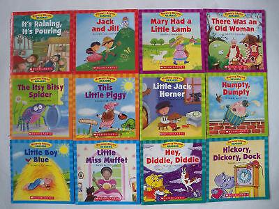 Nursery Rhyme Readers Preschool Lot 12 - Children's Books Teaching Supplies NEW on Rummage