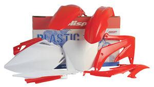 New Polisport  Plastic Kit Set Red Complete HONDA CR125R CR250R 2004-2007