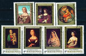 Hungary-Rafael-Arts-Paintings-set-1983