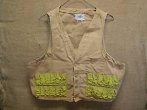 Image Is Loading Vintage Hunting Vest Gt Antique Hunt Old Gun