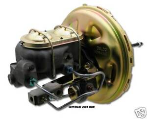 67 68 69 Camaro Firebird Disc Brake Booster Conversion