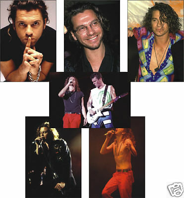 Micheal Hutchence Inxs Set of 6 Postcard Set