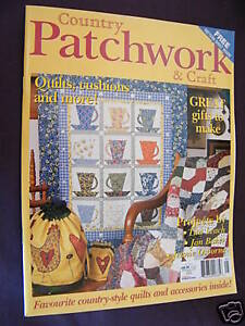Country-Patchwork-amp-Craft-Vol-3-No-2-Quilts-Cushions