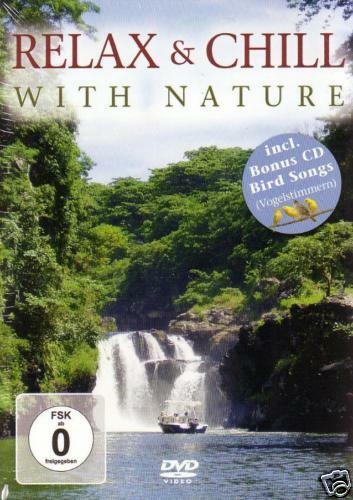 DVD Relax and Chill With Nature   3DVDs + Bonus CD