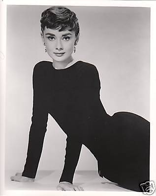 Audrey Hepburn Glamour 8x10 photo C5019