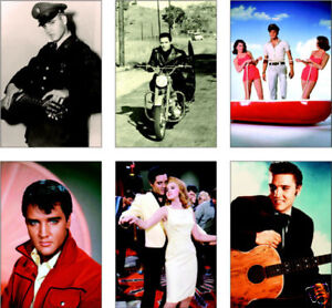 Elvis-Presley-6-Card-POSTCARD-Set-Vol-II