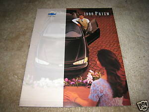 1999-Chevrolet-Prizm-sales-brochure-dealer-catalog-literature