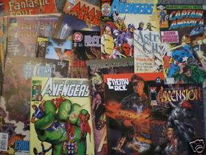 150-200-comics-HUGE-LOT-Batman-HULK-Superman-Spider-Man-Thor-cool-indy-titles