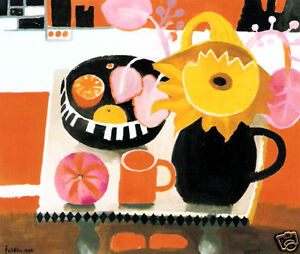 The Orange Mug by Mary Fedden RA - Still Life