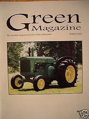 John Deere Pull Combines 39-61 Green magazine JD