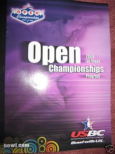 Usbc Open Championships 2009 Bowling Program Masters Stats Pba