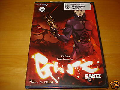 Gantz - Vol. 2: Kill Or Be Killed (anime Dvd, 2005, New)