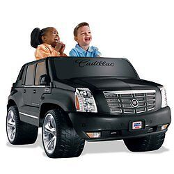 Fisher-Price-Power-wheels-Cadillac-Escalade-EXT-NEW