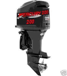 Mercury Boat Decals Ebay