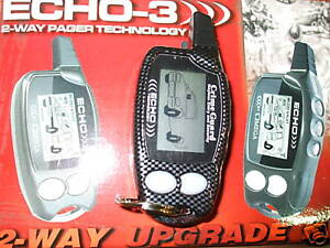 Omega-Echo3-Echo-3-2-Way-LCD-Pager-Carbon-Fiber-Remote