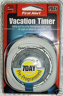First Alert 7 Day Vacation Timer -