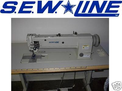 SEW LINE  ALL-NEW-UNIT TOP QUALITY 18 INCH BED WALK FT INDUSTRIAL SEWING MACHINE