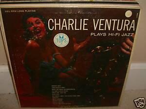 Charlie-Ventura-Plays-Hi-Fi-Jazz-Rare-LP-Good-Conds