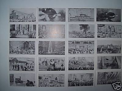 R J HILLS CRYSTAL PALACE SOUVENIRS (VARNISHED SET) EXCELLENT CONDITION 39 CARDS
