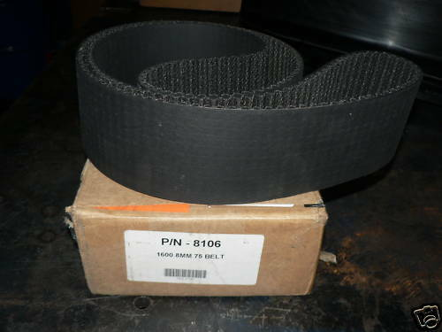 The Blower Shop 8mm Blower Pulley Belt #8106 Supercharger