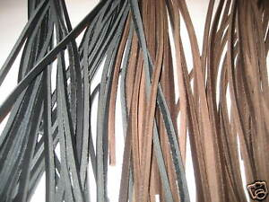 LEATHERCRAFT 4MM LEATHER STRIPS (PACK OF 50)