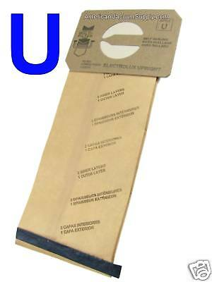 12 Bags For Electrolux Upright Vacuum Style U 4 Ply