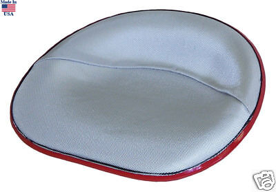 Ihc Farmall Upholstered Silver Canvas Pan Seat New