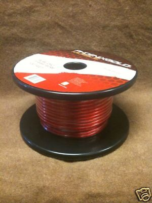 Phoenix Gold Pf2w8r100 Ruby Red 8 Awg Power Wire 100'