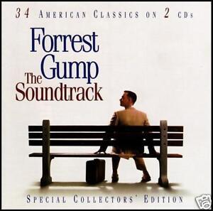 FORREST-GUMP-2-CD-SOUNDTRACK-BOB-SEGER-LYNYRD-SKYNYRD-BOB-DYLAN-BYRDS-NEW