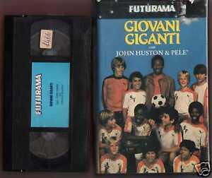 GIOVANI-GIGANTI-1983-John-Huston-Pele-VHS-USATA-RARA