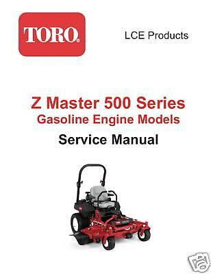 Toro z master manual download