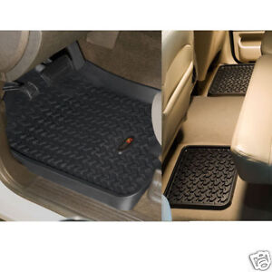 Rugged-Ridge-82987-02-Floor-Mats-Silverado-Sierra-1500-Crew-EXT-CAB-99-06