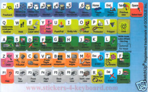Google-SketchUp-keyboard-or-laptop-stickers-NEW