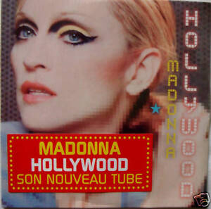 MADONNA-hollywood-2Tracks-CD-GERMANY-SEAL-CARD-SLEEVE
