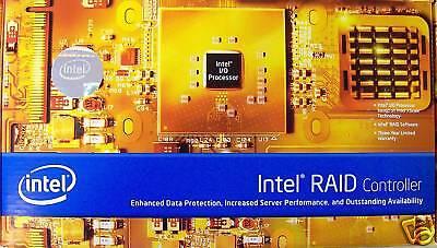 Intel Srcu42x Dual-channel Ultra320 Pci-x Controller Retail Box