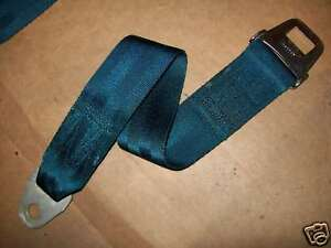 Coronet-Blue-Seat-Belt-Charger-B-Body-RoadRunner-Strap-Chrysler-Dodge-Plymouth