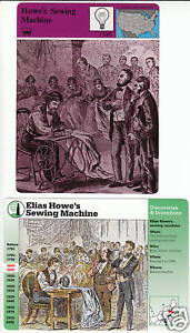 elias howe sewing machine value