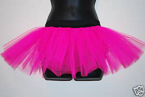 Image Is Loading NeW RACE FOR LIFE PINK NEON TUTU SKIRT