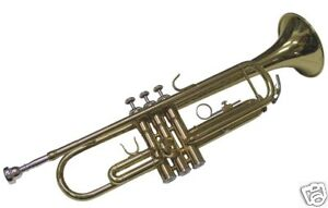New High Quality Bb Flat TRUMPET With Deluxe Hard Case 55 Year Instrument Maker
