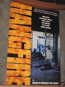 Hangfire-1991-VHS-Poster-26x40-LOU-FERRIGNO-LYLE-ALZADO