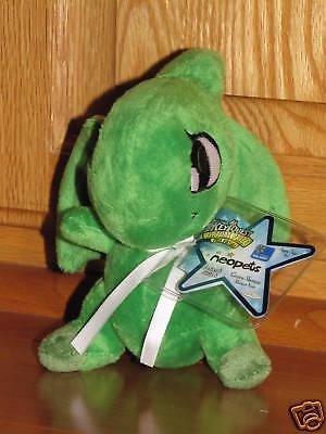 Neopets Green SHOYRU Plush Plushie Dragon Series 4 Wal-Mart Exclusive w/NEW Code