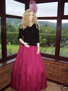 SKIRT-VICTORIAN-BALL-GOWN-DRAMA-COSTUME-FANCY-DRESS