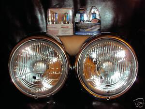 vw beetle   super  xenon upgrade headlights ebay